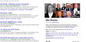Keyword Mel Brooks