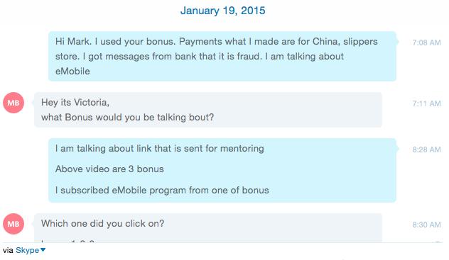 Scammy bonus