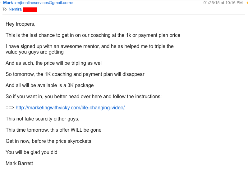 Triple price for coaching