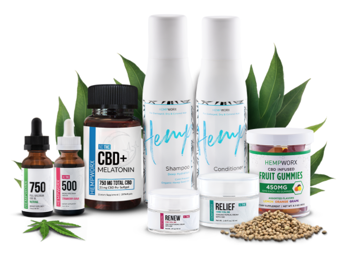 Hempworx products