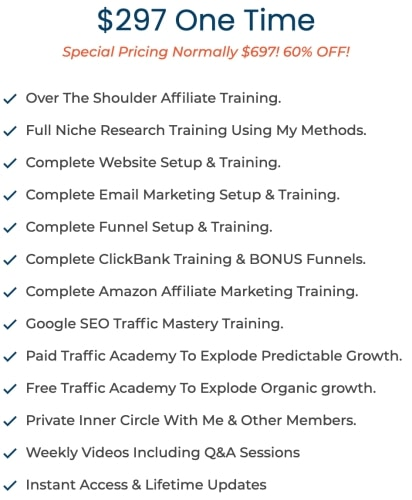 Super Savage Affiliate Courses